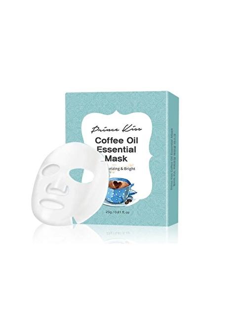 Princess PrinceKiss - Kahve yağlı Nemlendirici Maske Renksiz